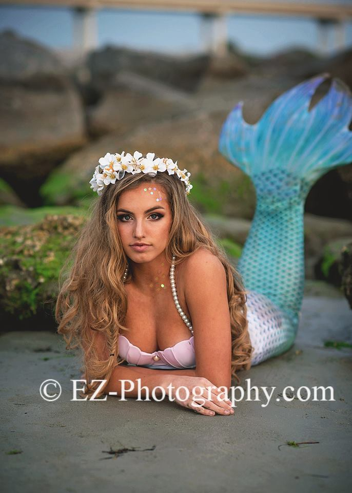 mermaid photo shoot melbourne fl
